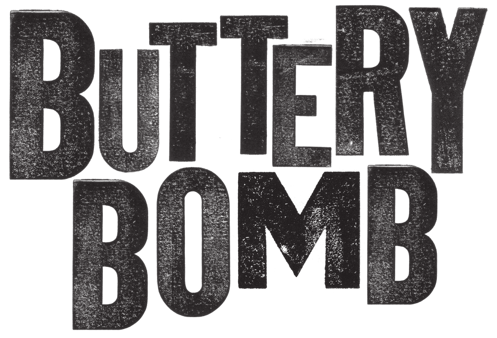 Buttery Bomb Wines Logo
